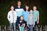 The Clear family enjoying the evening in Cassidys on Friday.<br /> Front: Amelia and Evie Clear.<br /> Back l to r: Anna Mai, Aidan, Georgina and Tadhg Clear.