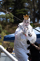 SAN FRANCISCO, CALIFORNIA - AUGUST 11: Puddles Pity Party & Friends - Mike Geier performs during the 2019 Outside Lands Music And Arts Festival at Golden Gate Park on August 11, 2019 in San Francisco, California. Photo: Alison Brown/imageSPACE<br /> CAP/MPI/IS/AB<br /> ©AB/IS/MPI/Capital Pictures