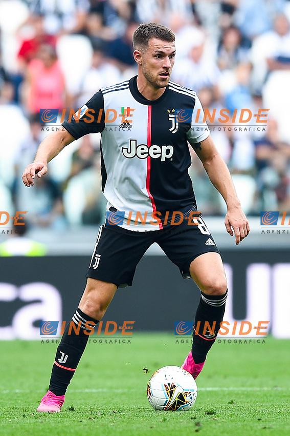 Aaron Ramsey of Juventus <br /> Torino 28/09/2019 Allianz Stadium <br /> Football Serie A 2019/2020 <br /> Juventus FC - SPAL <br /> Photo Image Sport / Insidefoto
