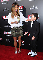 """31 July 2017 - Hollywood, California - Halle Berry, Sage Correa.  """"Kidnap"""" Los Angeles premiere held at Arclight Hollywood in Hollywood. Photo Credit: Birdie Thompson/AdMedia"""