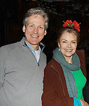 """All My Children's Tom Galantich """"Dr. Chappell"""", also  """"Mark Casey"""" OLTL and """"Dr. Swan"""" ATWT poses with Guiding Light Denise Pence """"Katie Parker"""" on Guiding Light and was producer of the event at """"Union Women at Work: Inspiration In Motion"""" on March 5, 2012 at Theatre at Saint Peter's Church - Home of The York Theatre, New York City, New York which was Sponsored by Actors' Equity Associations Eastern EEO Committee.  The event was an Equity event in celebration of Womens History Month................. at Theatre at Saint Peter's Church - Home of The York Theatre, New York City, New York which was Sponsored by Actors' Equity Associations Eastern EEO Committee.  The event was an Equity event in celebration of Womens History Month.  (Photo by Sue Coflin/Max Photos)"""