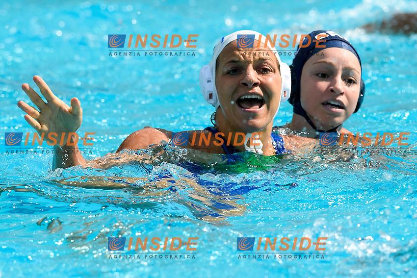 FRASSINETTI Teresa ITA <br /> Rio de Janeiro 09-08-2016 Maria Lenka Aquatics Center  <br /> Waterpolo Italy Brazil Women ITA - BRA <br /> Foto Andrea Staccioli/Deepbluemedia/Insidefoto