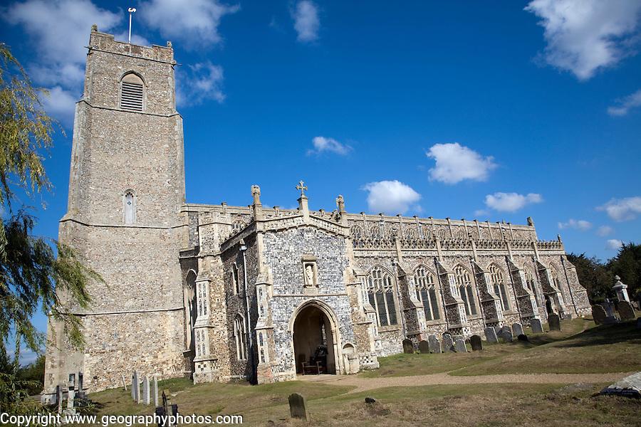 Blythburgh church, Suffolk, England
