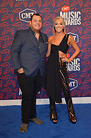 NASHVILLE, TN - JUNE 5: Luke Combs and Nicole Hocking attend the 2019 CMT Music Awards at Bridgestone Arena on June 5, 2019 in Nashville, Tennessee. (Photo by Tonya Wise/PictureGroup)