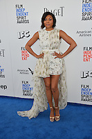 Taraji P. Henson at the 2017 Film Independent Spirit Awards on the beach in Santa Monica, CA, USA 25 February  2017<br /> Picture: Paul Smith/Featureflash/SilverHub 0208 004 5359 sales@silverhubmedia.com