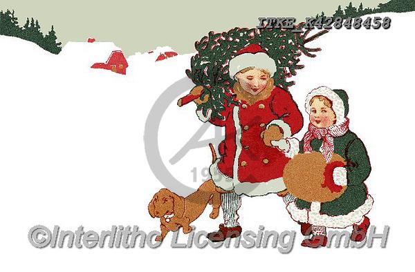 Isabella, CHRISTMAS SANTA, SNOWMAN, WEIHNACHTSMÄNNER, SCHNEEMÄNNER, PAPÁ NOEL, MUÑECOS DE NIEVE, nostalgic, paintings+++++,ITKEK42848458,#X#