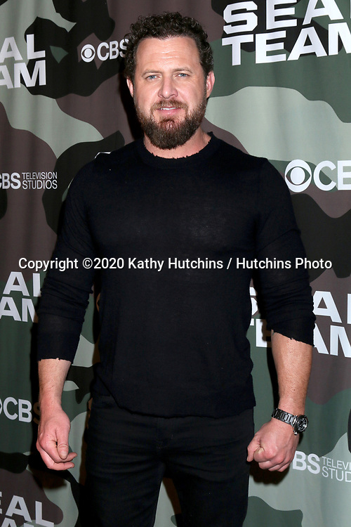 """LOS ANGELES - FEB 25:  AJ Buckley at the """"Seal Team"""" Screening at the ArcLight Hollywood on February 25, 2020 in Los Angeles, CA"""