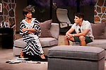 """As The World Turns' Colleen Zenk stars along with the cast - Davy Raphaely in """"Other Desert Cities"""" at the tech rehearsal (in costume) on October 14, 2015 at Whippoorwill Halll Theatre, North Castle Library, Kent Place, Armonk, New York.  (Photo by Sue Coflin/Max Photos)"""