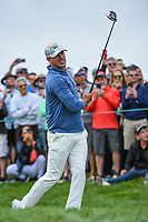 Brooks Koepka (USA) watches his tee shot on 9 during round 1 of the 2019 US Open, Pebble Beach Golf Links, Monterrey, California, USA. 6/13/2019.<br /> Picture: Golffile | Ken Murray<br /> <br /> All photo usage must carry mandatory copyright credit (© Golffile | Ken Murray)