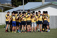 Action from the representative rugby union match between Wellington Under-14s and Wellington Under-13s at Petone Rugby Club in Wellington New Zealand on Saturday, 27 August 2017. Photo: Andrew Turner / lintottphoto.co.nz