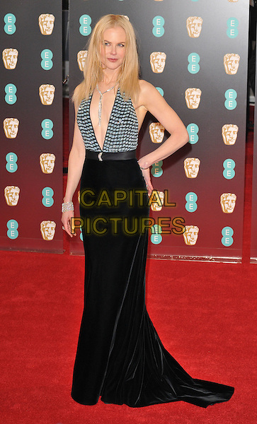 Nicole Kidman at the EE British Academy Film Awards (BAFTAs) 2017, Royal Albert Hall, Kensington Gore, London, England, UK, on Sunday 12 February 2017.<br /> CAP/CAN<br /> &copy;CAN/Capital Pictures