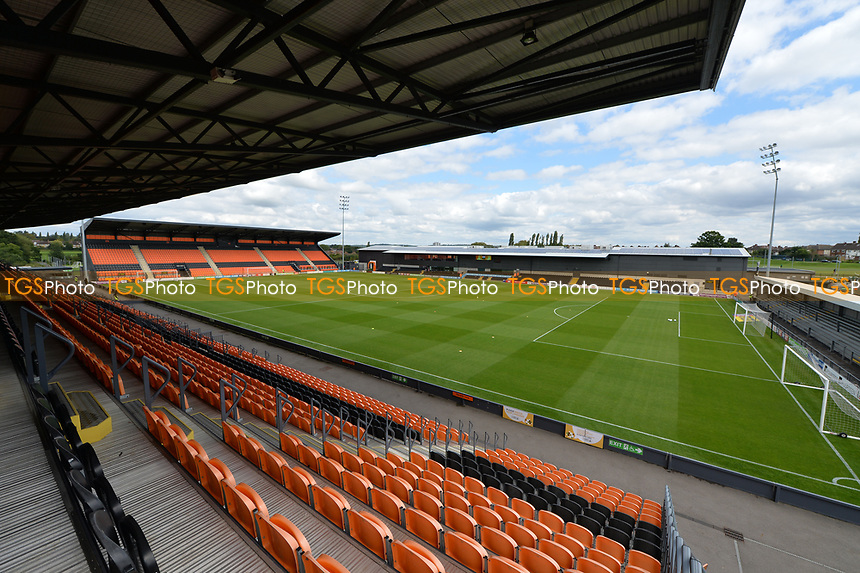 The hive during Barnet vs Luton Town, Sky Bet EFL League 2 Football at the Hive Stadium on 12th August 2017