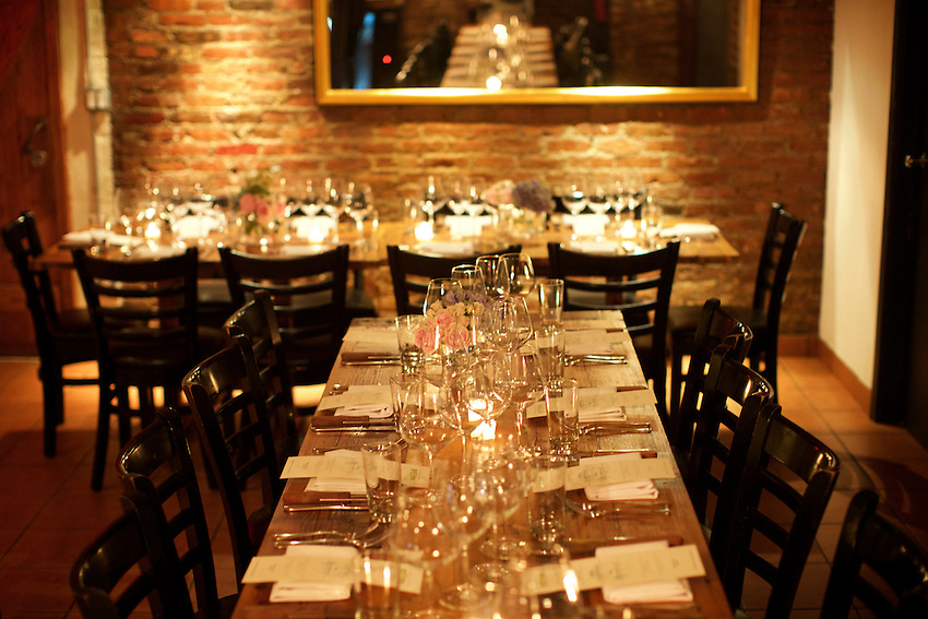 New York, NY - July 12, 2016: The James Beard Foundation Greens host an evening of seasonal fare at Market Table in Greenwich Village. <br /> <br /> CREDIT: Clay Williams for the James Beard Foundation.<br /> <br /> &copy; Clay Williams / claywilliamsphoto.com