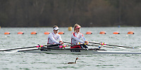 Caversham. Berkshire. UK<br /> GBR LW2X. Bow Charlotte TAYLOR and Kat COPELAND.<br /> 2016 GBRowing European Team Announcement,  <br /> <br /> Wednesday  06/04/2016 <br /> <br /> [Mandatory Credit; Peter SPURRIER/Intersport-images]