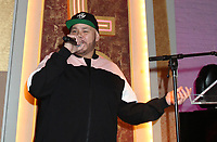 NEW YORK, NY - JANUARY 26: Fat Joe at Apollo Theater Inaugural Pre-Grammy Uptown Luncheon on January 26, 2018 in New York City. Credit: Walik Goshorn/MediaPunch