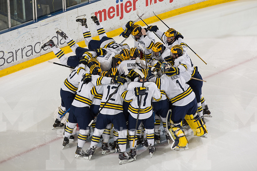 The University of Michigan hockey team shut out Niagara, 6-0, at Yost Ice Arena in Ann Arbor, Mich., on November 22, 2013.