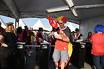 Belgium fans (BEL), <br /> JUNE 26, 2014 - Football / Soccer :<br /> Fans enter through the turnstiles before the FIFA World Cup Brazil 2014 Group H match between South Korea 0-1 Belgium at Arena de Sao Paulo in Sao Paulo, Brazil. (Photo by SONG Seak-In/AFLO)