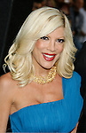 """HOLLYWOOD, CA. - April 30: Tori Spelling arrives at the Los Angeles premiere of """"Star Trek"""" at the Grauman's Chinese Theater on April 30, 2009 in Hollywood, California.a"""