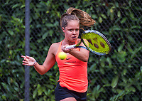 Hilversum, Netherlands, August 9, 2017, National Junior Championships, NJK, Margriet Timmermans<br /> Photo: Tennisimages/Henk Koster