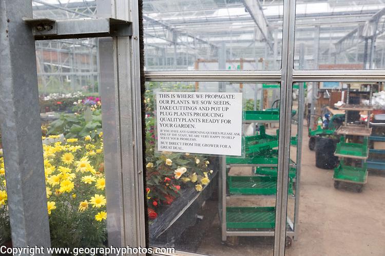 The Walled garden plant nursery, Benhall, Suffolk, England, UK