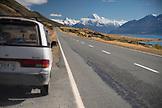 NEW ZEALAND, Aoraki Mount Cook National Park, The Road to Mount Cook, Ben M Thomas