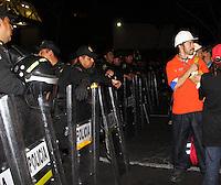 Mexico D.F., 31/01/2013, Explosion en la torre de Pemex, Se registra una explosión en el Edificio B-2 del complejo administrativo de Pemex, hay 25 muertos. /nortePhoto