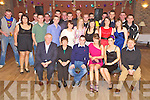 John and Joanne Moynihan, Rathmore, pictured with family and friends as they celebrated their joint 21st birthdays in Darby O'Gills on Saturday night.....NOTE: They are not twins