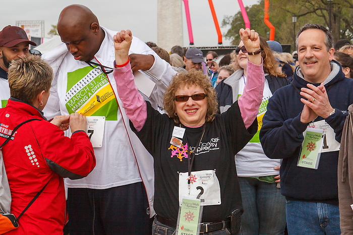 The 6th Annual National Walk for Epilepsy took place on Saturday, March 31, 2012 at the National Mall.