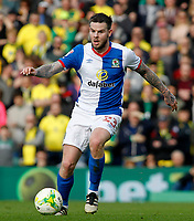 Blackburn Rovers' Danny Guthrie in action <br /> <br /> Photographer David Shipman/CameraSport<br /> <br /> The EFL Sky Bet Championship - Norwich City v Blackburn Rovers - Saturday 11th March 2017 - Carrow Road - Norwich<br /> <br /> World Copyright &copy; 2017 CameraSport. All rights reserved. 43 Linden Ave. Countesthorpe. Leicester. England. LE8 5PG - Tel: +44 (0) 116 277 4147 - admin@camerasport.com - www.camerasport.com