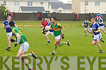 Declan O'Sullivan for South Kerry in full stride in their 1st round clash with Kerins O'Rahillys in the Con Keating Park in Cahersiveen on Sunday, South Kerry 1-14 Kerins O'Rahilly's 1-7.