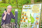 INFORMATION: Tarbert man, Micheal Lanigan who is involved in installing QR signs to provide information about the flora and fauna in Tarbert woodland areas, the first such initiative in the country.