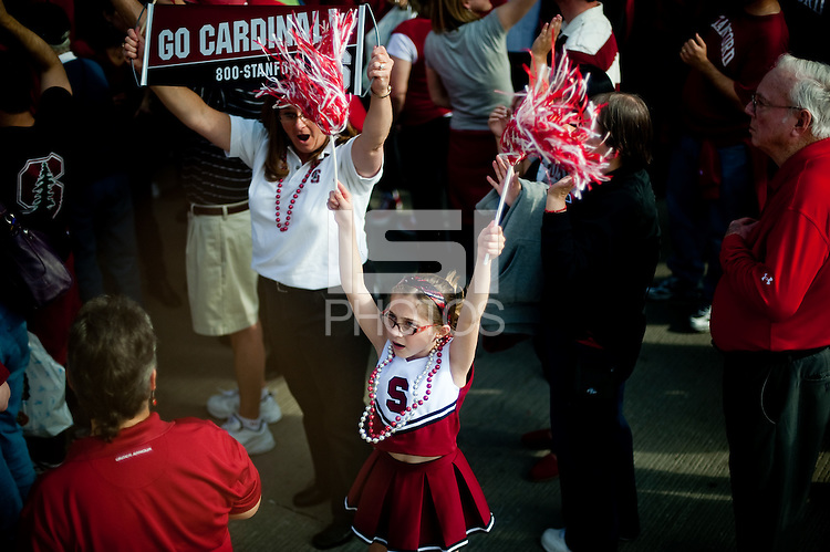 INDIANAPOLIS, IN - APRIL 3, 2011: A young fan enjoys the pregame festivites before the NCAA Final Four against Texas A&M at Conseco Fieldhouse  in Indianapolis, IN on April 1, 2011.