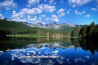 63045-01214 Sprague Lake  Rocky Mountain National Park   CO
