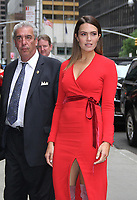 NEW YORK, NY - June 06: Mandy Moore at The Late Show with Stephen Colbert in New York City on June 06, 2018. <br /> CAP/MPI/RW<br /> &copy;RW/MPI/Capital Pictures