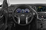 Car pictures of steering wheel view of a 2017 Hyundai Azera Liimited 4 Door Sedan