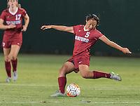STANFORD, CA - September 11, 2015: The Stanford Cardinal vs Penn State Nittany Lions women's soccer match in Stanford, California. Final score, Stanford 0, Penn State 2.