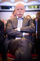 """Der Vorstandsvorsitzender der Daimler AG Dieter Zetsche am Montag (27.05.13) in Berlin im Vorfeld einer Internationalen Konferenz """"Elektromobil bewegt"""". Foto: Timur Emek/CommonLens"""
