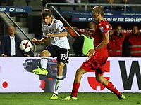 Thomas Müller (Deutschland Germany) flankt - 01.09.2017: Tschechische Republik vs. Deutschland, Eden Arena