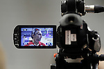 Spain's coach Sergio Scariolo attends the journalists during training session.July 24,2012(ALTERPHOTOS/Acero)