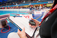 Picture by Allan McKenzie/SWpix.com - 16/12/2017 - Swimming - Swim England Nationals - Swim England Winter Championships - Ponds Forge International Sports Centre, Sheffield, England - Judges, volunteers, Officials, TYR, branding.