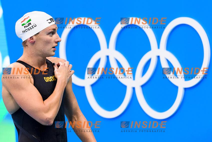 HOSSZU Katinka HUN <br /> Women's 400m Individual Medley <br /> Rio de Janeiro 06-08-2016 Olympic Aquatics Stadium <br /> Swimming Nuoto <br /> Foto Andrea Staccioli/Deepbluemedia/Insidefoto