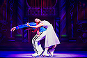 London, UK. 24.10.2013. NUTCRACKER ON ICE opens at the London Palladium, with The Imperial Ice Stars and featuring Keith Chegwin as Drosselmeyer. Picture shows: Anastasia Ignatyeva and Bogdan Berezenko. Photograph © Jane Hobson.