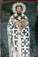 St. Savva,fresco,old narthex,Milesheva  Monastery of Ascension of the Lord , 1234-1235