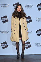 Aysha Kala<br /> at the launch of the Skate at Somerset House ice rink, London.<br /> <br /> ©Ash Knotek  D3199  16/11/2016
