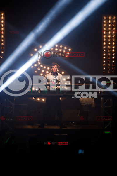 Rusko performing live at Royal Oak Music Theatre in Royal Oak, Michigan. May 6, 2012. © Joe Gall / MediaPunch Inc.
