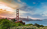 GG Bridge Sunset,  May 23, 2014