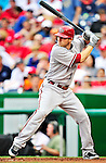 15 August 2010: Arizona Diamondbacks shortstop Stephen Drew in action against the Washington Nationals at Nationals Park in Washington, DC. The Nationals defeated the Diamondbacks 5-3 to take the rubber match of their 3-game series. Mandatory Credit: Ed Wolfstein Photo