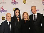 Scott Hamilton, Vera Wang, Tina and Terry Lundgren - Figure Skating in Harlem celebrates 20 years - Champions in Life benefit Gala on May 2, 2017 in New York Ciry, New York.   (Photo by Sue Coflin/Max Photos)