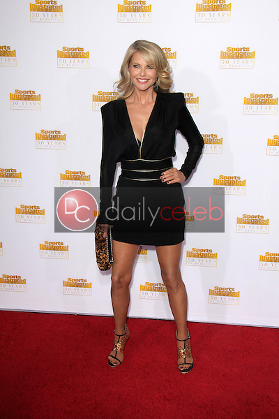 Christie Brinkley<br /> at the NBC And Time Inc. Celebrattion for the 50th Anniversary Of Sports Illustrated Swimsuit Issue, Dolby Theater, Hollywood, CA 01-14-14<br /> David Edwards/DailyCeleb.Com 818-249-4998