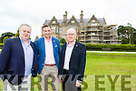 Pat Dawson. Rory Darcy and Denis the trustees of Muckross House who are currently overseeing the refurbishment of the windows of the house
